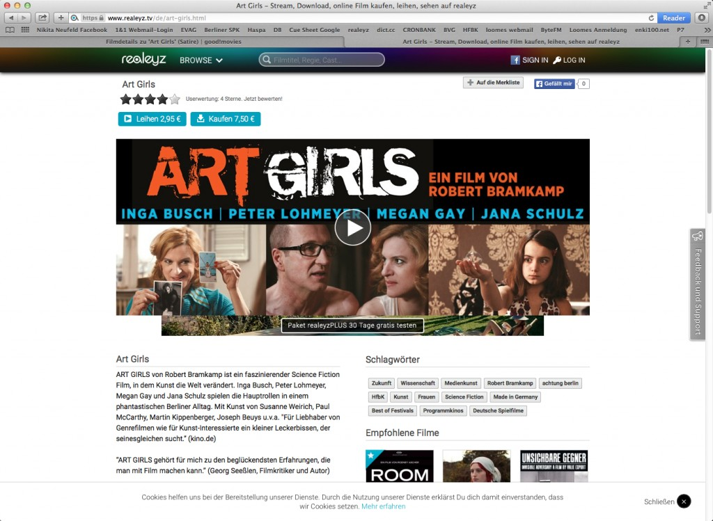 ART GIRLS_Filmpage realeyz